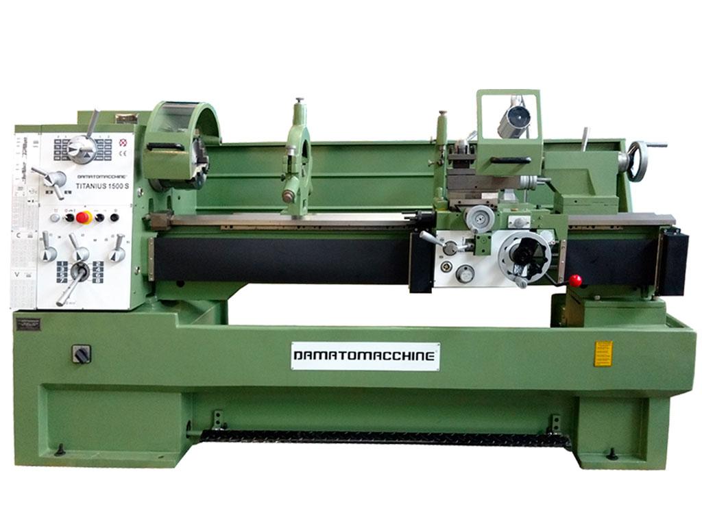 Tornio professionale per metalli titanius 1500 tecnosuisse for Tornio da banco per metalli usato