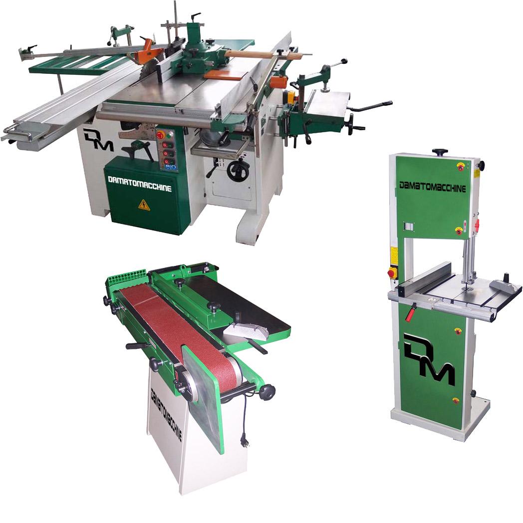 Macchine utensili per legno di tipo professionale e ad uso for Hobby del legno